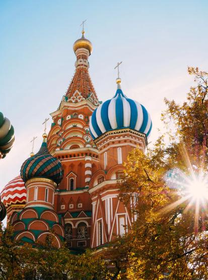 畅游俄罗斯八日游